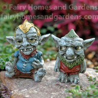Miniature Troll Buddies - Jubal and Gorp