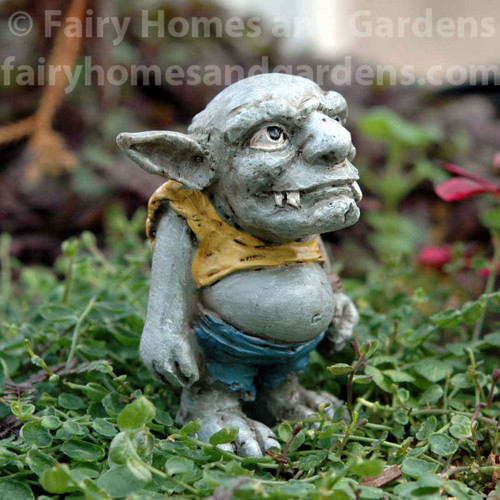"""Miniature Troll Character - """"Gribby"""""""