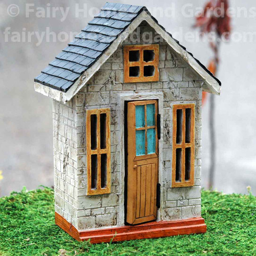 Enchanted Get Away Fairy House with Hinged Door