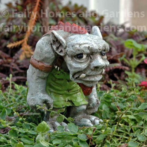 """Miniature Troll Figurine  """"Harley"""""""