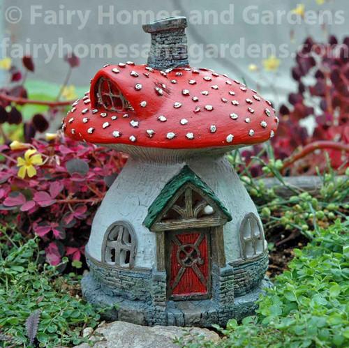 Muscaria Mushroom Fairy House