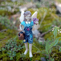 Miniature Fairy Maggie and Her Little Dog Toby