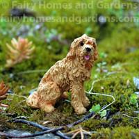 "Miniature Labradoodle Dog Figurine ""Scruffy"""