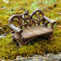 Miniature Twig Bench