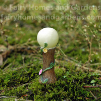 Woodland Knoll Miniature Glow in the Dark Gazing Ball