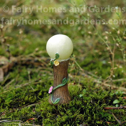 Woodland Knoll Miniature Glow in the Dark Gazing Ball