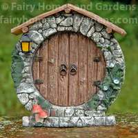 Top Collection Round Fairy Door