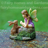 Miniature Fairy and Bunny Pals