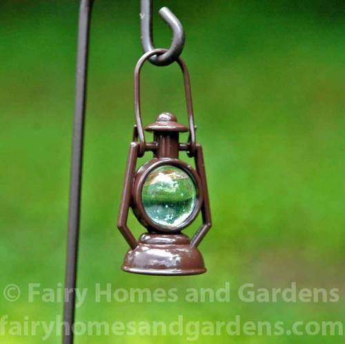 Woodland Knoll Railroad Lantern Close Up
