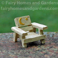 Miniature Moon and Stars Fairy Chair