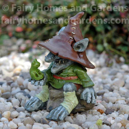 Swampland Troll with Frog 'Merle'