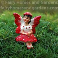 Miniature Mushroom Fairy 'Dottie'
