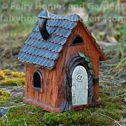 Woodview Fairy Cottage with Hinged Door