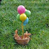 Balloon Travel Bunnies