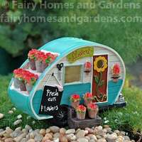 Lighted Fairy Flower Camper