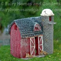 Homestead Barn with Silo