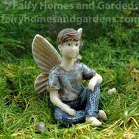 Miniature Fairy Boy Figurine 'Landon'