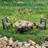 Top Collection Miniature Leaf Table and Chairs