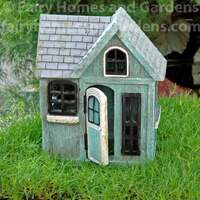 Coastal Fairy Shack with Door Ajar