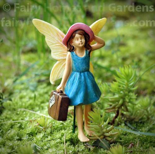 Woodland Knoll Traveling Fairy Figurine