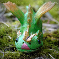 Dragon with Butterfly - Close Up View