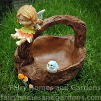 Little Fairy Caroline Trinket Basket