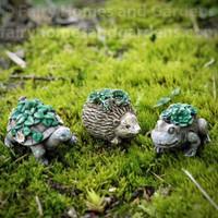 Miniature Animal Planters - Set of Three
