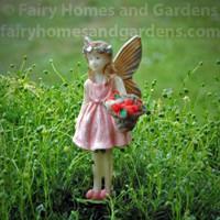 Fairy Heidi Gathering Strawberries