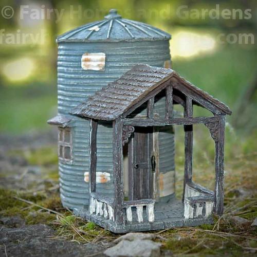 Rambling Ridge Grain Bin Fairy Abode