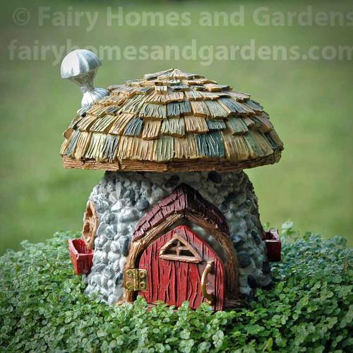 Shingletown Mushroom Fairy Hut