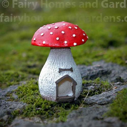 Miniature Mushroom Dog House