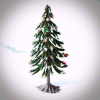 Miniature Faux Christmas Tree