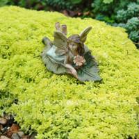 Fairy on Leaf