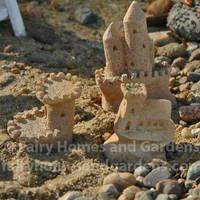Set of 3 Miniature Sand Castles