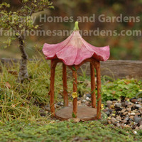 Fairy Garden Flower Top Gazebo