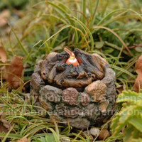 Miniature Firepit with flickering light