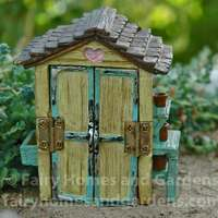 Miniature Fairy Garden Shed