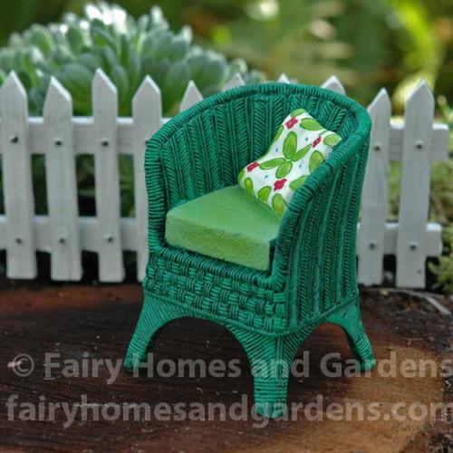 Miniature Merriment Wicker Chair