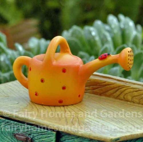 Miniature Ladybug Watering Can