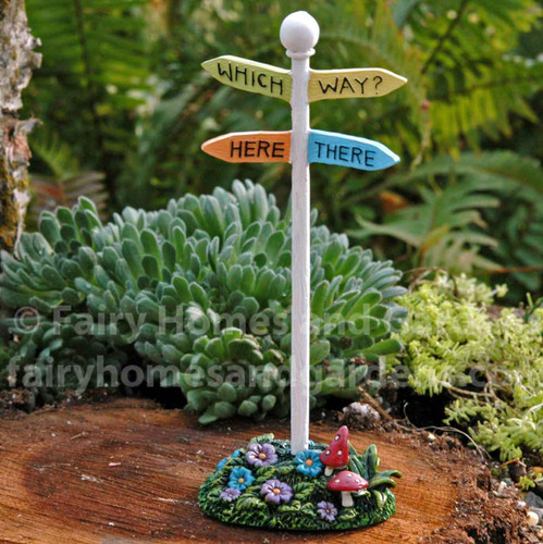 Merriment Directional Sign