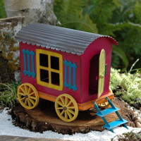 Gypsy Fairy Garden Wagon