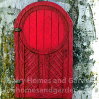 Merriment red Fairy Door