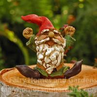 Miniature Yawning Gnome