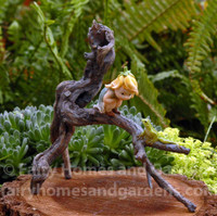 Miniature Garden Sprite with Tree Frog