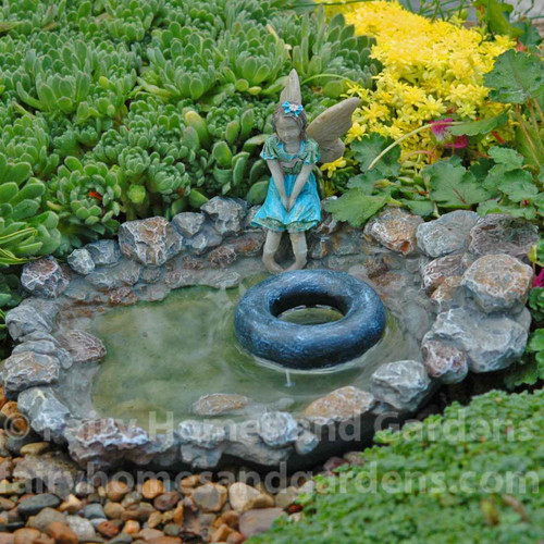 Fairy Swimming Hole with Floating Inner Tube