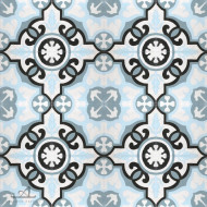 MARINA BLUE CEMENT TILES