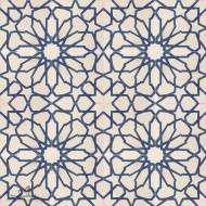 STARBURST BLUE CEMENT TILES
