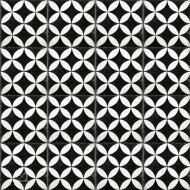 CITRUS BLACK CEMENT TILES