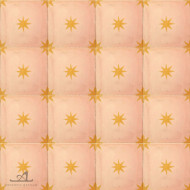 STARS PINK CEMENT TILES