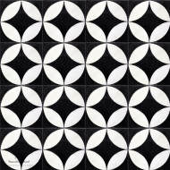 GRAND CITRUS BLACK CEMENT TILES